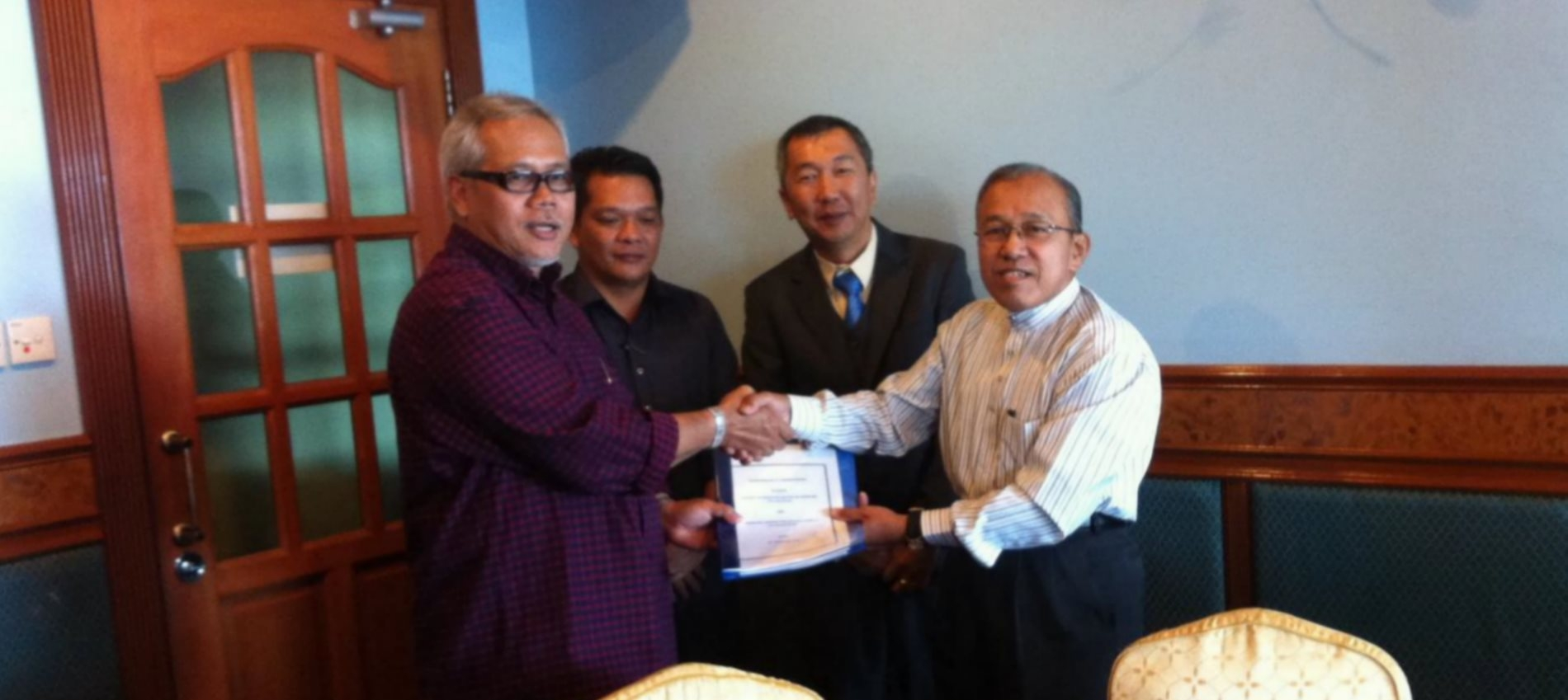 MOU with Ramacon Corporation Sdn Bhd